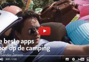 Kamperen? Deze 6 apps voor op de camping zijn onmisbaar!
