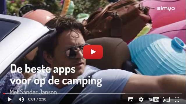 6 handige apps voor op de camping, Getest door Sander Janson