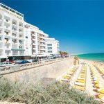 Relaxte vakantie aan het strand in Algarve