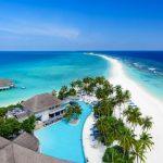 Trendy en relaxed hotel op de Malediven