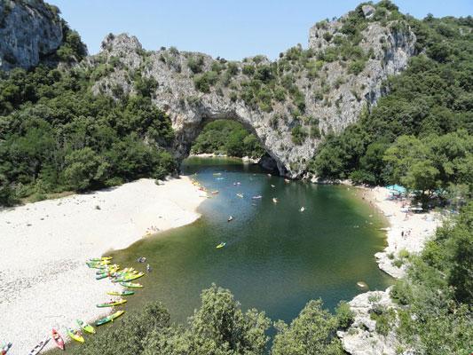 Camping Ardèche met tieners