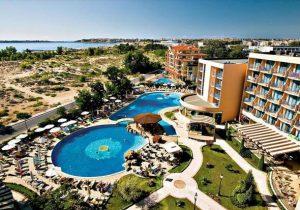 Prachtig gelegen familiehotel direct aan de Sunny Beach