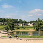 Bungalow op top locatie aan zwemmeer in België met zwembad