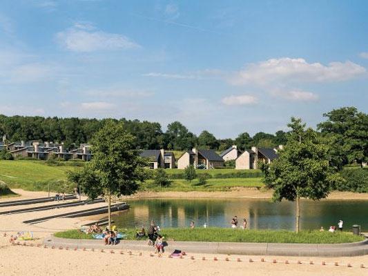 Bungalowpark in België met tieners