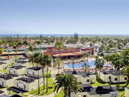 Bungalowpark Gran Canaria met tieners