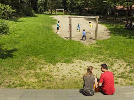 Bungalowpark in Nederland met tieners