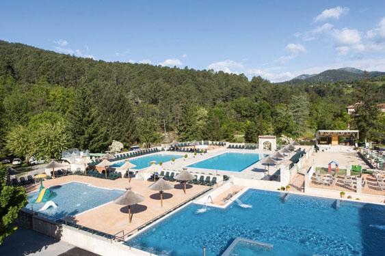 Camping Ardèche met zwembad