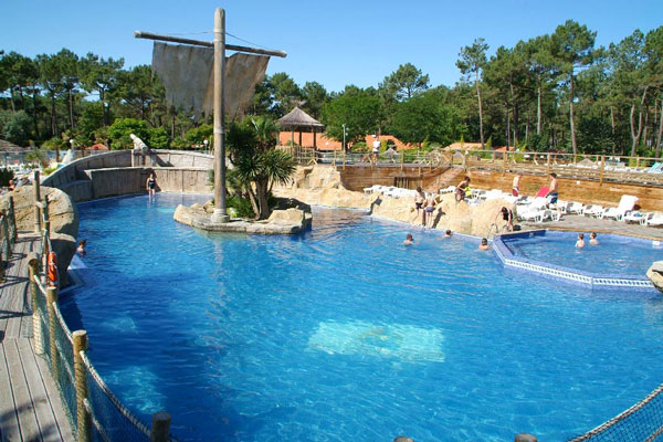 Camping Frankrijk met aquapark