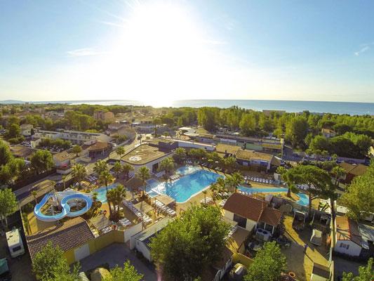 Camping Frankrijk met zwemparadijs met tieners
