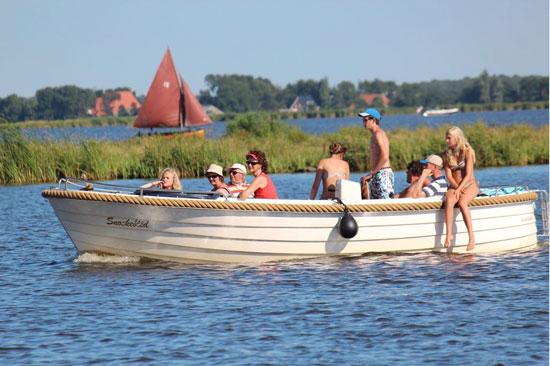 Vakantie met jeugd in Friesland
