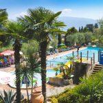 Camping met prachtig uitzicht over Gardameer met zwembad