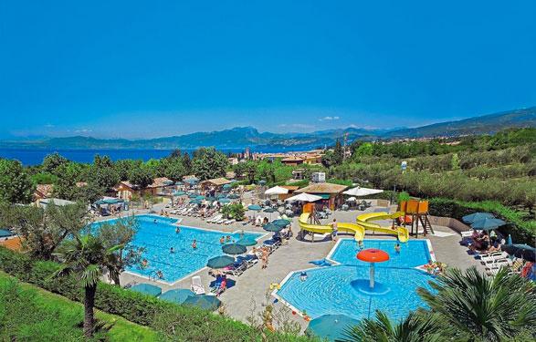 Camping Gardameer met groot zwembad