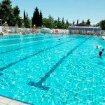 Camping aan de kust van Slovenië met mooi zwembad