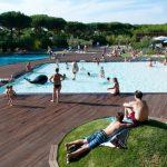 Camping met zandstrand in het zonnige Toscane