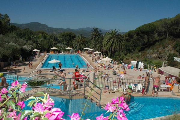 Camping in Toscane met zwembad