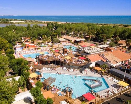 Camping Zuid Frankrijk met zwemparadijs