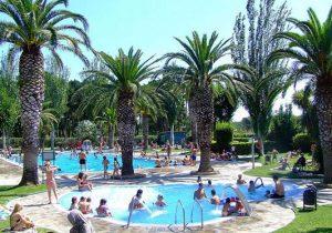 Camping met subtropisch zwembad aan de Costa Brava