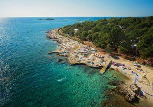 Prachtige camping aan de kust van Kroatië