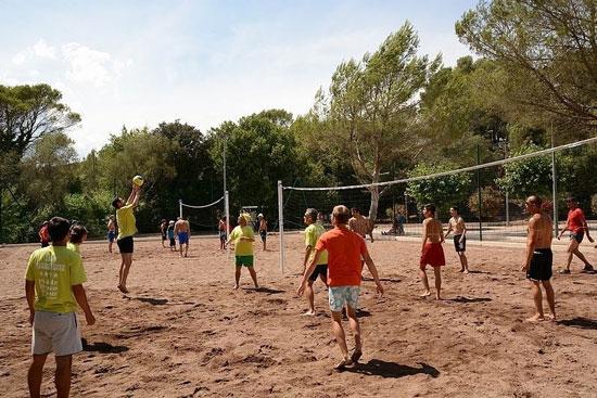 Camping aan de Côte d'Azur met tieners