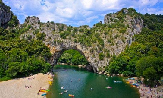 Camping in de Ardèche met tieners