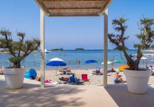Leuke zonvakantie aan het strand in Kroatië