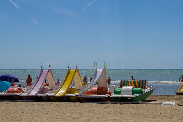 Camping in Venetië met tieners