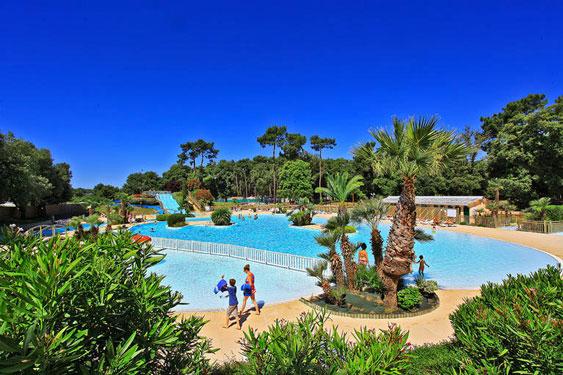 Camping met zwembad in Frankrijk