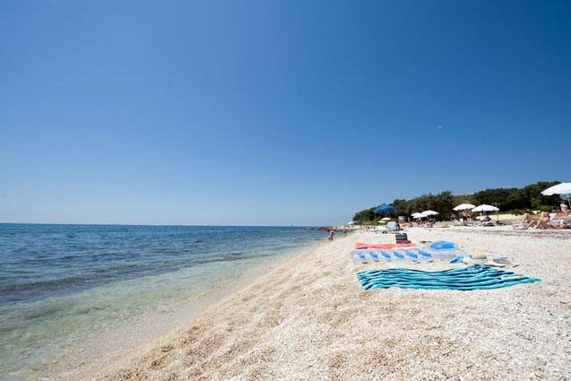 Camping aan het strand in Kroatië met tieners
