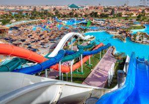Zonovergoten vakantie met enorm zwemparadijs in Egypte
