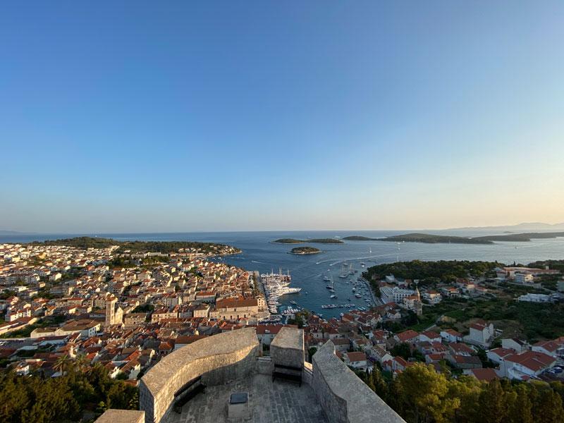 Hvar uitzichtpunt, reis naar Hvar, mijn ervaring.