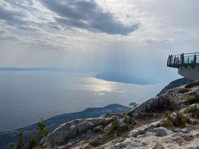 Eilandhoppen Kroatië Skywalk