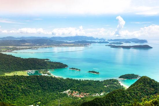 De stranden van Maleisië