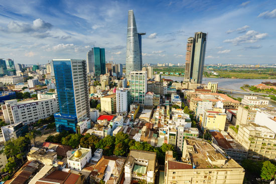 Rondreizen bij Chi Minh City