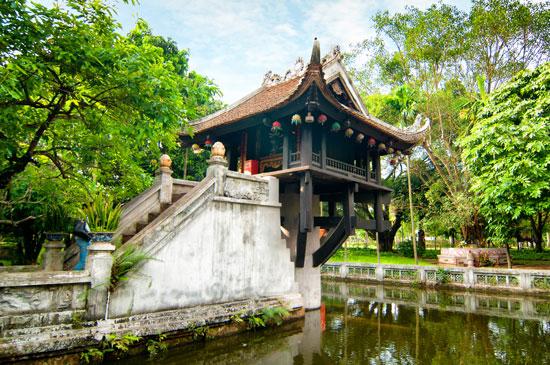 Tempels bezoeken tijdens rondreis in Vietnam