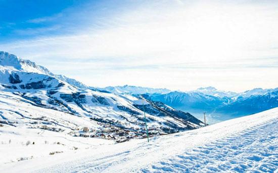 Familiewintersport Franse Alpen