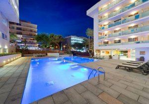 Prima hotel in het centrum voor leuke feestvakantie in Salou