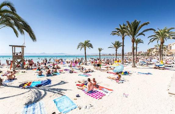 Feestvakantie op Mallorca met vrienden