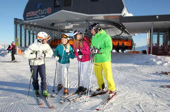 Skigebied Salzburgerland