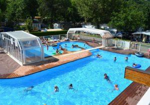 Heerlijke camping in de Franse alpen met mooie zwembaden