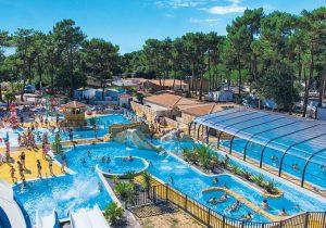 Top vakantie op gezellige Franse camping met groot waterpark
