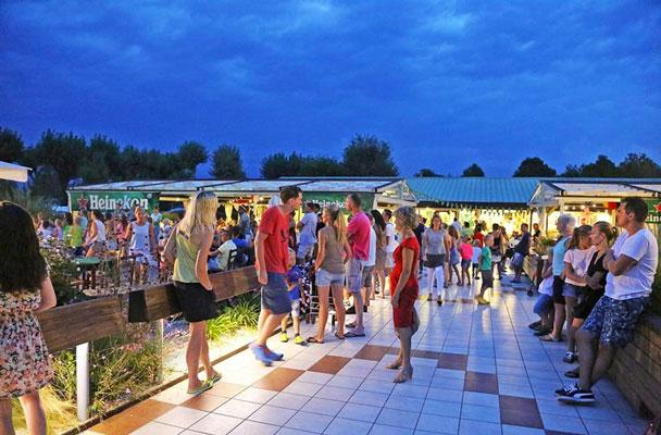Camping Gardameer met pubers