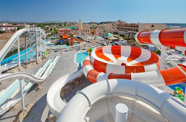 Resort Rhodos met tieners