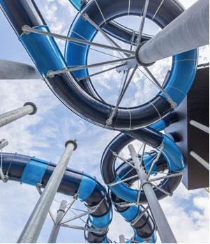 Grootste waterglijbaan ter wereld, gewoon in Nederland