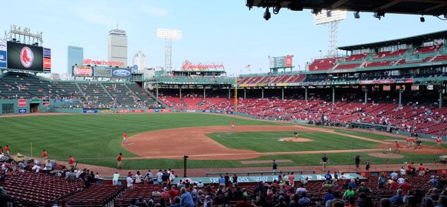 Honkbalwedstrijd in de Verenigde Staten