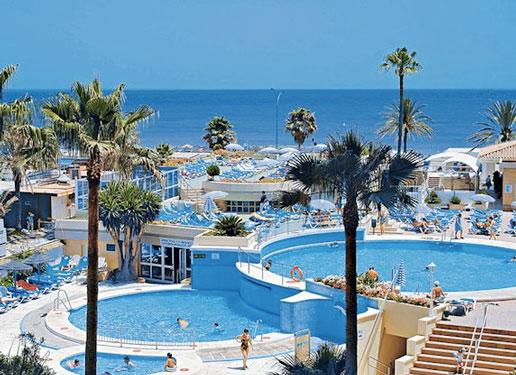 Hotel Costa Del Sol met tieners