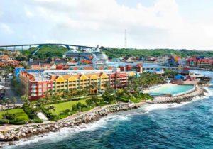 Heerlijk genieten vanuit dit zonnige hotel met zwembad op Curaçao