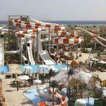 Onder de Egyptische zon genieten van een enorm aquapark