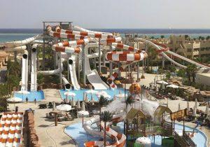 Onder de Egyptische zon genieten van een enorm zwembadencomplex!