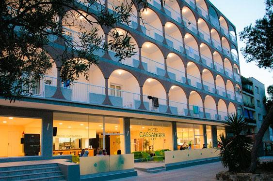 Hotel Mallorca met jongeren
