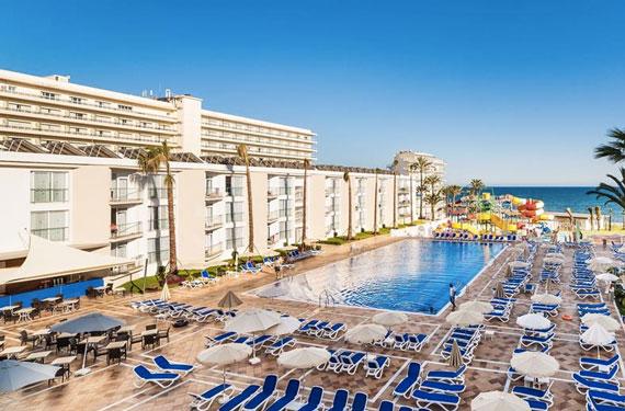 Hotel in Spanje met zwemparadijs met tieners